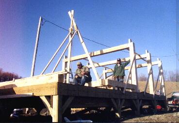 building cabin