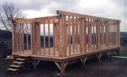 building timberframe
