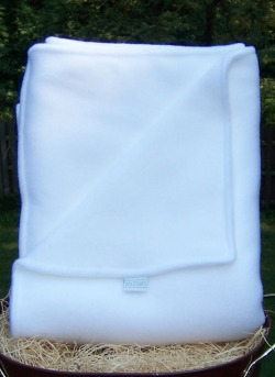 White Baby Security Blanket Personalized Baby Boy Or Girl